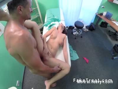 Doctor Fucks Horny Teen Client