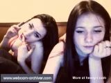 Two Teens Masturbating Together