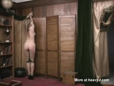 Magic Bondage Torment For Busty Blonde