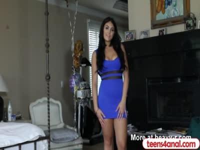 Girlfriend makes an anal revenge sextape for her boyfriend