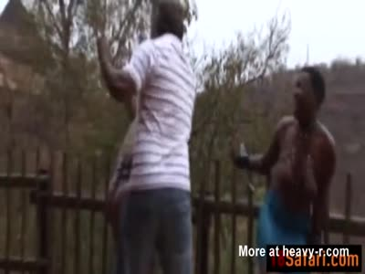 Safari Black Slut Domination Bondage Orgy Outdoors