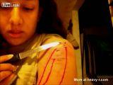 Self Mutilation Video