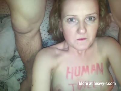 Amateur Human Toilet POV