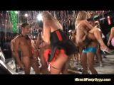 Brazilian Carneval Gangbang