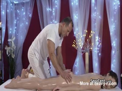 Butt Massage With Cumshot