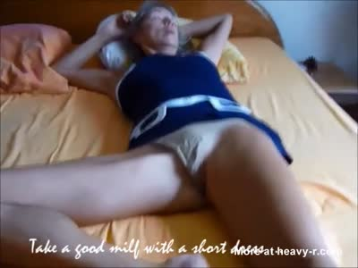 Mature Wife Flashing Her Pussy