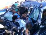 Minivan accident