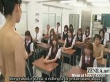 Teacher Strips In Front Of Class