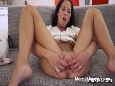 Hot czech Pussy Playing Solo