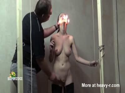 Bound Slave Fire Tortured