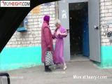Drugged Up Granny Flashing