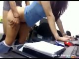 Secretary Doggystyle Quickie With Creampie