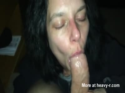 Blow job latina mature