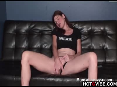 Pale Brunette Gets Herself Off