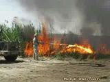 Flame Thrower In Iraq