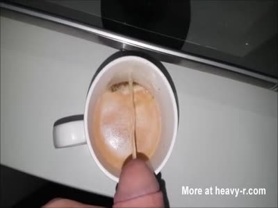 Pissing In Coffee For BBW