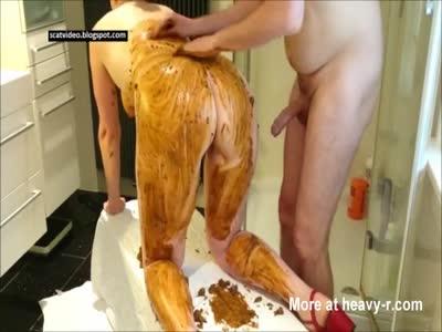 Amateur Couple Scat Fuck