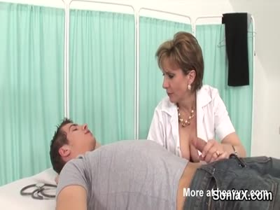 Unfaithful english mature lady sonia presents her large boob