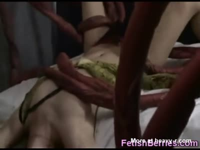 Tentacles Rape Girl In Her Bed