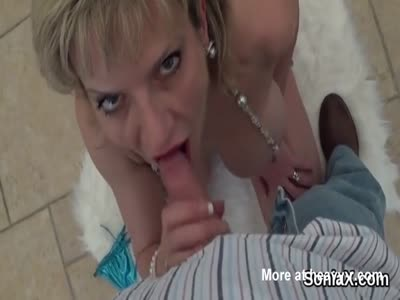 Mature Housewife Sucking Dick