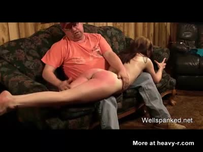Naughty Teen Spanked And Cained