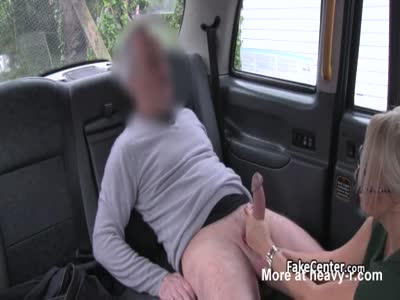 Taxi Driver Bangs Busty Blonde In Cab