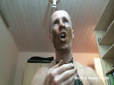 olibrius71 shit face eat and cumshot sperm