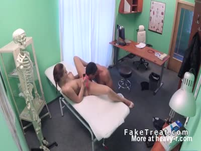 Nurse Helps Patient Drain His Balls
