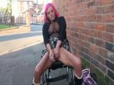 Wheelchair flashing