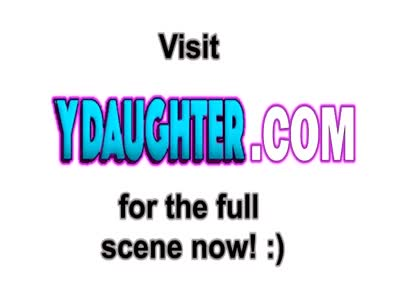Cute Daughter Sucks Massive Dick And Gets Fucked Raw On Bed