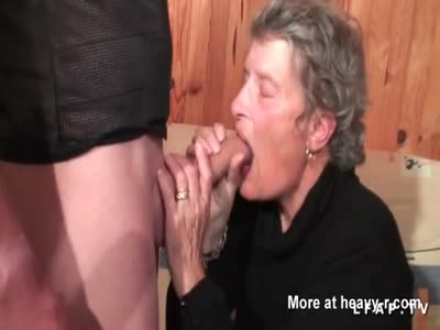 Old Granny Fucked In Her Ass