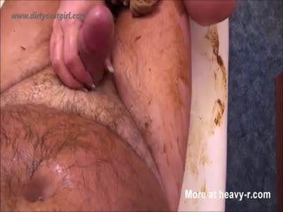 Scat Couple Handjob