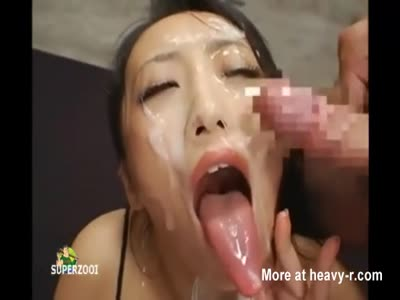 Girls long tongue blowjob