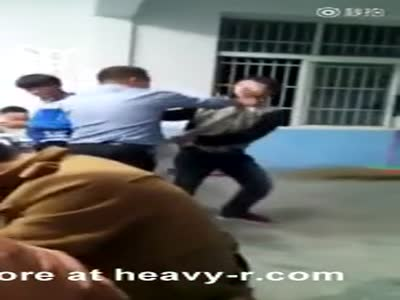 Fight Between Students and Teacher in China