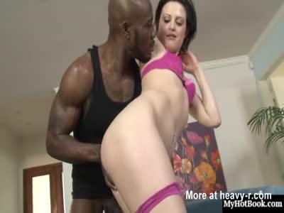 Annika Amour Gets Blacked