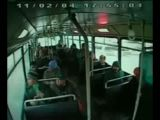 Accident bus from the inside