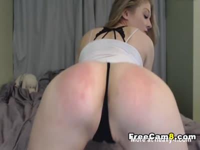 Spanking Herself