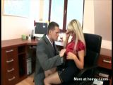 Secretary Fucked At The Office