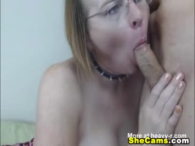 Mature Shemale Gets Titty Fucked