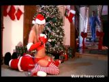 Hardcore Christmas Fuck With Santa Girl