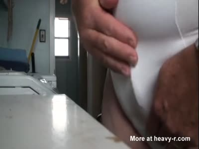 Wacking His Tiny Penis