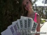 Amateur Czech Girl Fucking For Cash