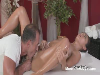 Creampie For Massaged Teen