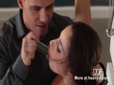 Hostage Slave Training Of Anal Slut
