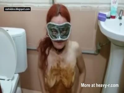 Masked Scat Slut