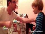 Dad Punches Kid