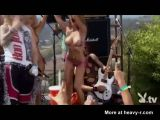 Wild Topless Bikini Rock Party