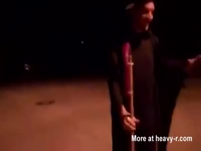 Guy Launches Dildo Rocket Into Friends Butt