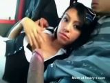 Latina Girlfriend Sucking Cock In Car Till Cum