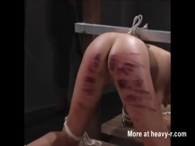 Painful Ass Caning